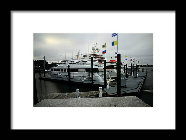 Framed Print featuring the photograph Boats by Mithun Das