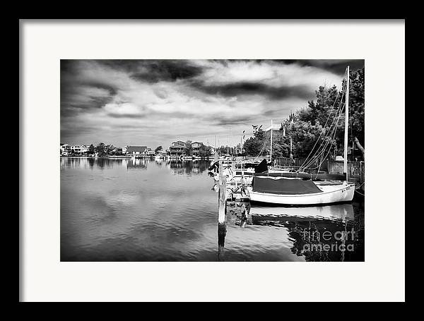 Boats Of Long Beach Island Framed Print featuring the photograph Boats Of Long Beach Island by John Rizzuto
