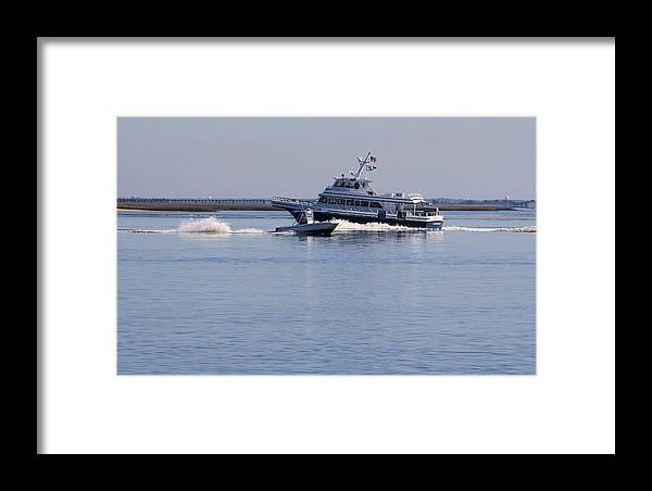 Boats Framed Print featuring the photograph Boats On The Intracoastal by David Byron Keener