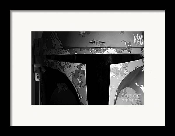 Boba Framed Print featuring the photograph Boba Fett Helmet 29 by Micah May
