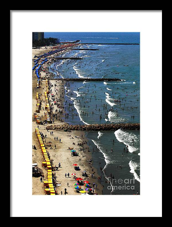 Colombia Framed Print featuring the photograph Bocagrande - Cartagena by John Rizzuto