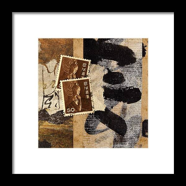 Japan Framed Print featuring the photograph Bodhisattva 1952 by Carol Leigh