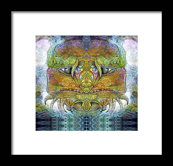 \bogomil Variations\ \otto Rapp\ \ Michael F Wolik\ Framed Print featuring the digital art Bogomil Variation 11 by Otto Rapp