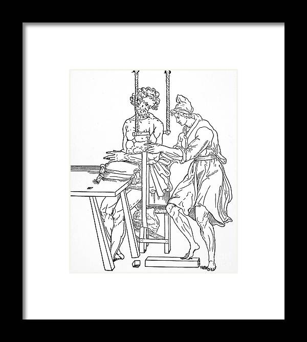 Anatomy Framed Print featuring the photograph Bone Fracture Repair by Granger