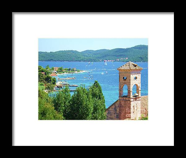 Water Framed Print featuring the photograph Bonita by De La Rosa Concert Photography