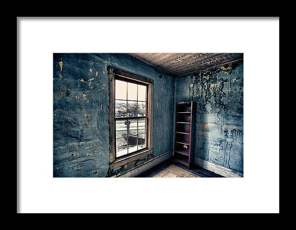 Bannack Framed Print featuring the photograph Boo's Room by Renee Sullivan