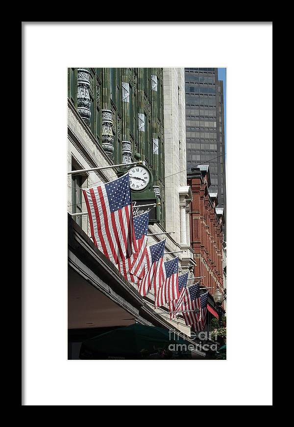 Boston Framed Print featuring the photograph Boston 4th Of July by Kerri Mortenson