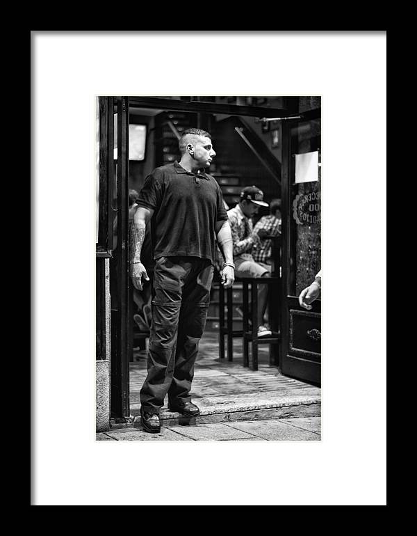Bouncer Framed Print featuring the photograph Bouncer by Pablo Lopez