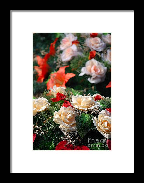 Bouquet Framed Print featuring the photograph Bouquet by Sarka Olehlova