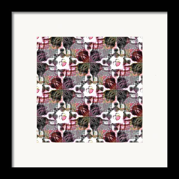 Animal Framed Print featuring the photograph Boxer Abstract 20130126v4 by Wingsdomain Art and Photography