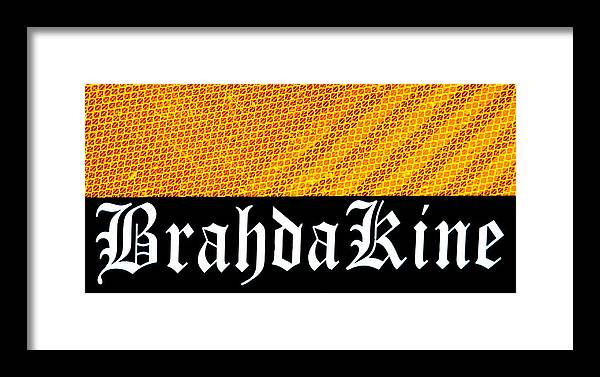 Brahda Framed Print featuring the photograph Brah Da Kine by Karon Melillo DeVega