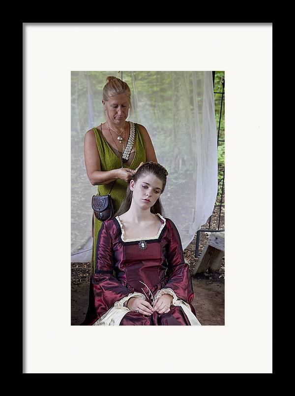 Medeival Framed Print featuring the photograph Braids by Charles Warren