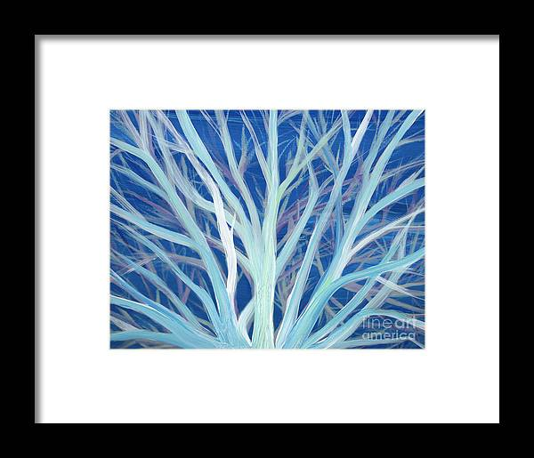 First Star Art Framed Print featuring the painting Branches By Jrr by First Star Art