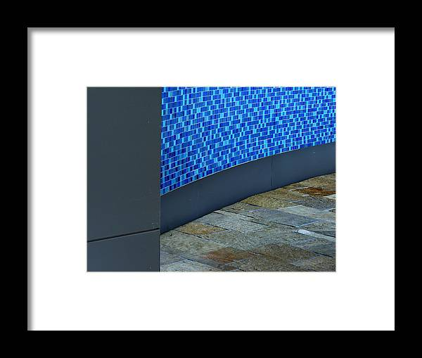 Tile Framed Print featuring the photograph Branching Out by Lin Haring