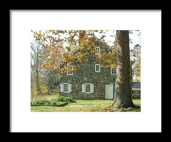 Brandywine Framed Print featuring the photograph Brandywine House by David Nichols