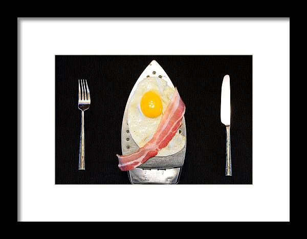 Breakfast Framed Print featuring the photograph Breakfast Is Served by Vlad Bubnov