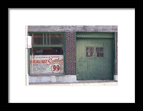 Al Klass Framed Print featuring the photograph Breakfast Special by Heidi Brandt