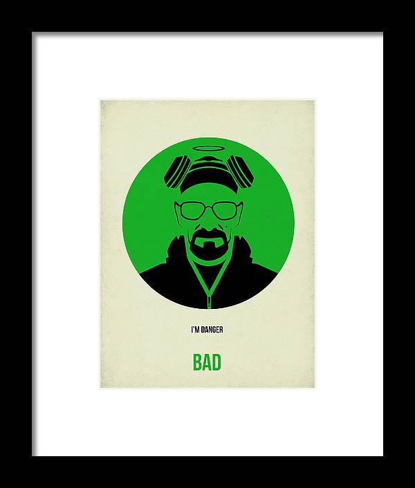 Breaking Bad Poster 2 Framed Print by Naxart Studio