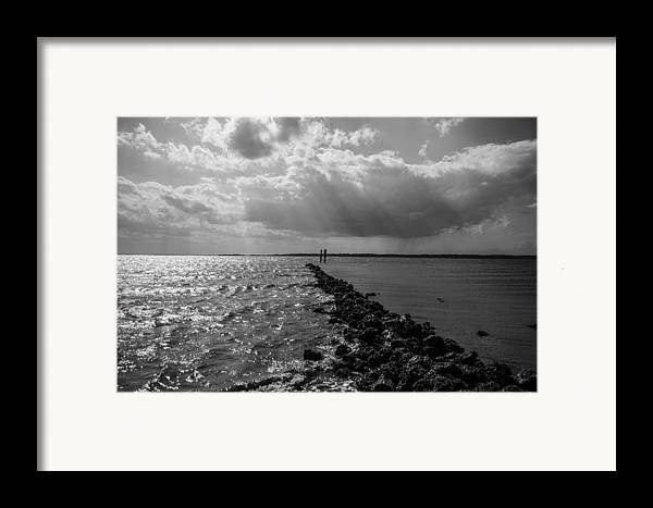 St Helena Framed Print featuring the photograph Breaking Divide by Steven Taylor