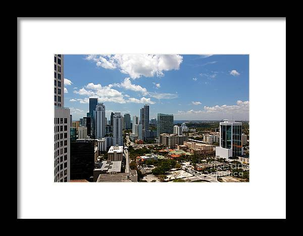 Apartment Framed Print featuring the photograph Brickell by Jannis Werner