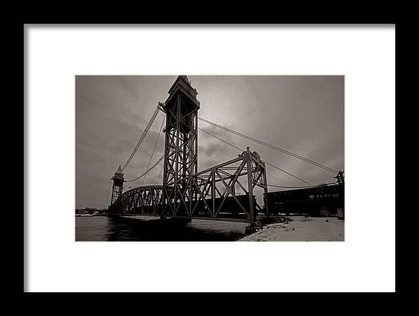 Cape Cod Framed Print featuring the photograph Bridge Again by David DeCenzo