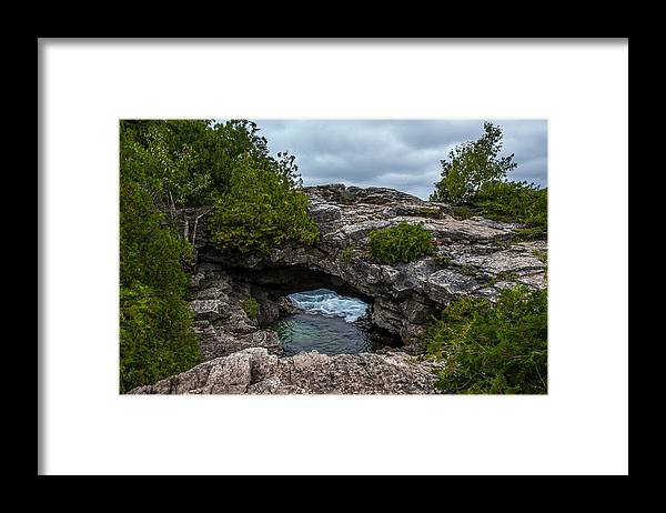 Arch Framed Print featuring the photograph Bridge To Somewhere by Paul Johnson