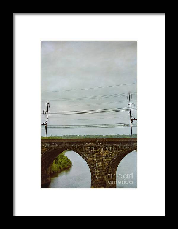 Architecture Framed Print featuring the photograph Bridges by Margie Hurwich