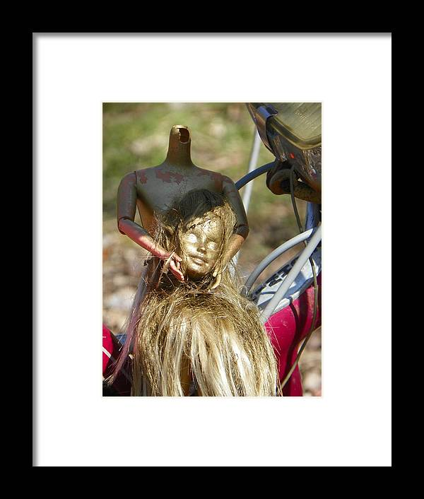 Head Framed Print featuring the photograph Bring Me The Head by Bernie Smolnik