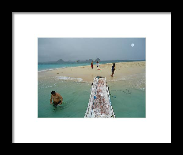 The Beautiful Islands.. Framed Print featuring the photograph Britania Island by Fladelita Messerli-