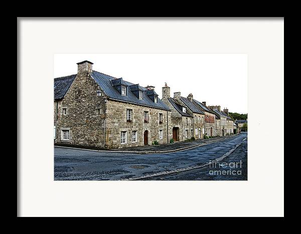 France Framed Print featuring the photograph Brittany by Olivier Le Queinec