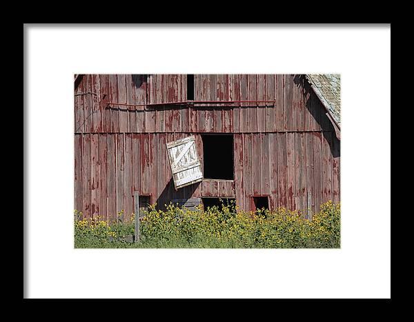 Kansas Framed Print featuring the photograph Broken Down by Crystal Socha