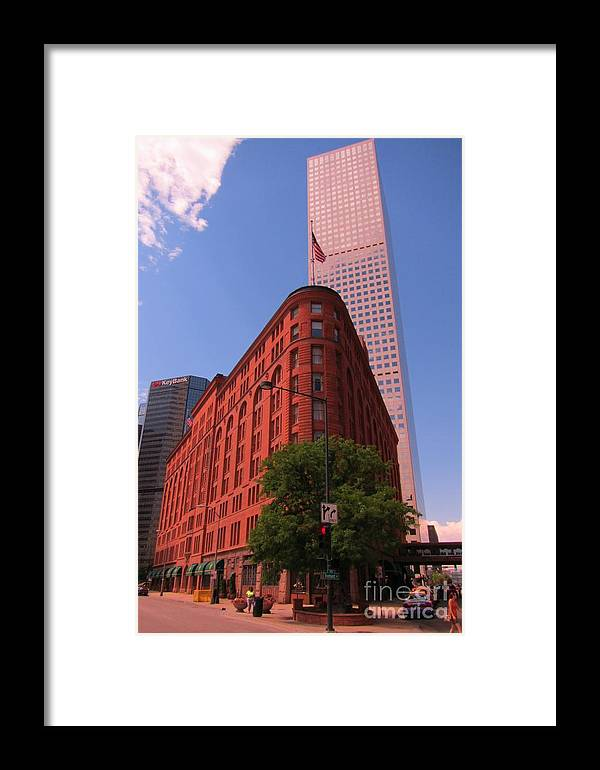 Brown Palace Hotel Framed Print featuring the photograph Brown Palace Hotel In Denver Colorado by John Malone