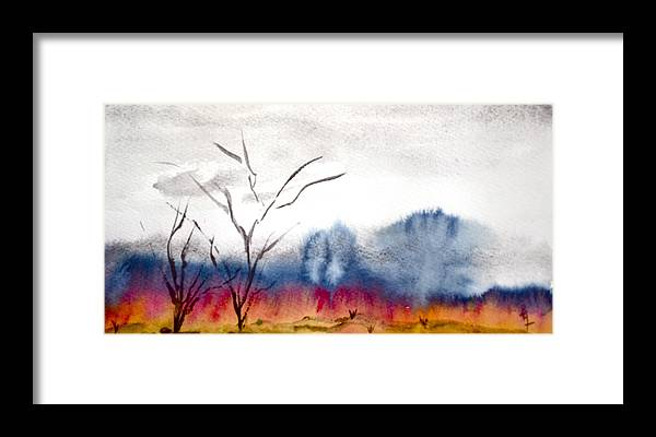 Brush Framed Print featuring the painting Brush by Beverley Harper Tinsley