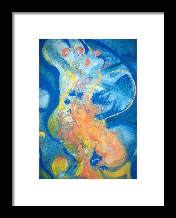 Music Framed Print featuring the painting Brzilian Rhythms by Phoenix Simpson