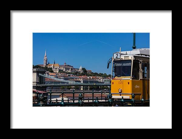 Budapest Framed Print featuring the photograph Buda Castle Budapest by Gabriel Radulescu