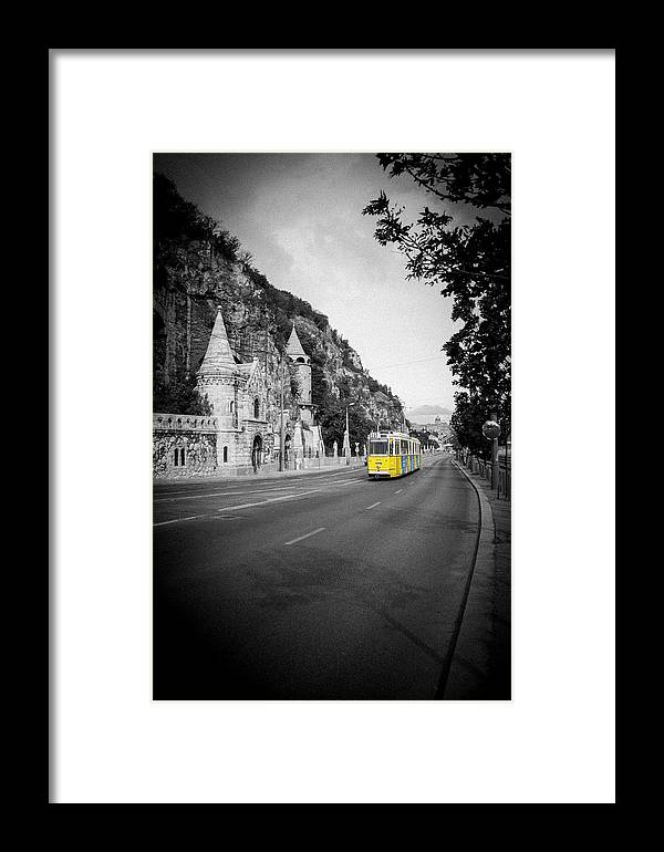 Budapest Framed Print featuring the photograph Budapest Bw by Gabriel Radulescu