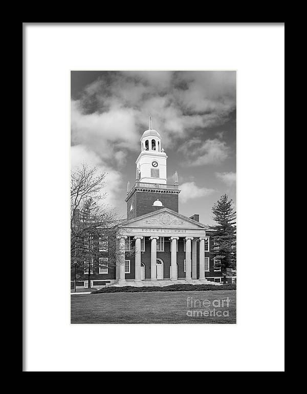 Buffalo Framed Print featuring the photograph Buffalo State College Rockwell Hall by University Icons