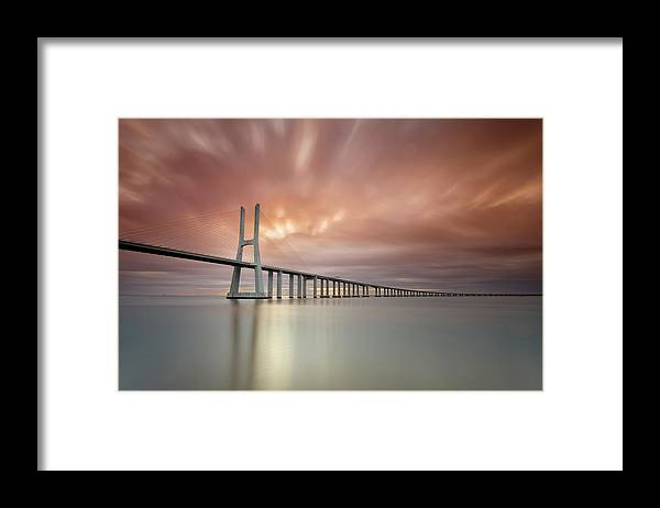 Tranquility Framed Print featuring the photograph Burn, Fire Burn by Landscape Photography