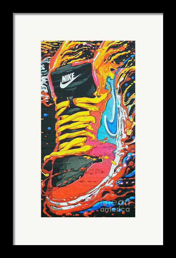 Shoes Framed Print featuring the photograph Burning To Do It In Portland by David Bearden