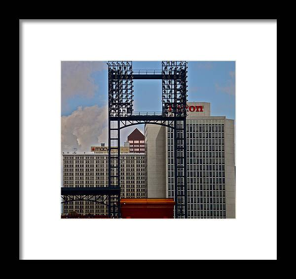 St. Louis Framed Print featuring the photograph Busch Stadium by Rob Michels