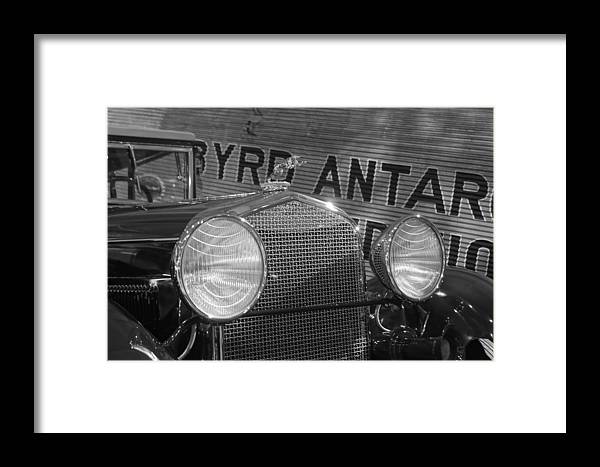 Framed Print featuring the photograph By Land And Air... 30s Style by Daniel Thompson