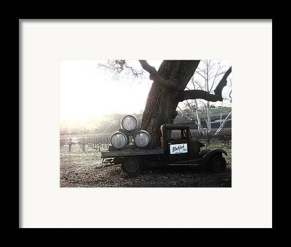 Winery Framed Print featuring the photograph Bygone Era by Paul Foutz