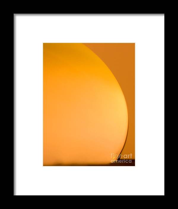 Raindrop Framed Print featuring the photograph C Ribet Orbscape 0205ca by C Ribet