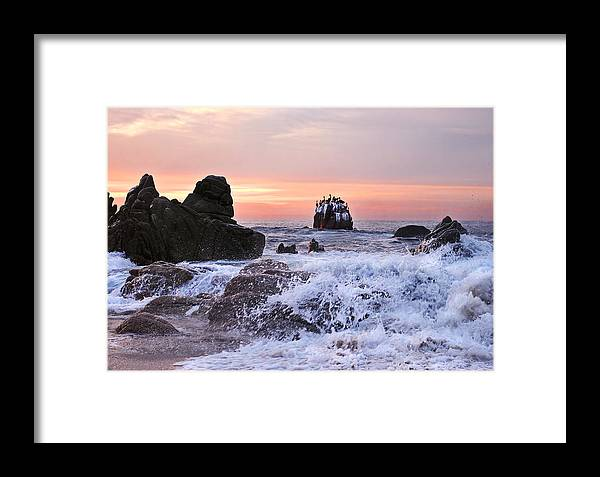 Landscape Framed Print featuring the photograph Cabo Sunrise by Marcia Colelli