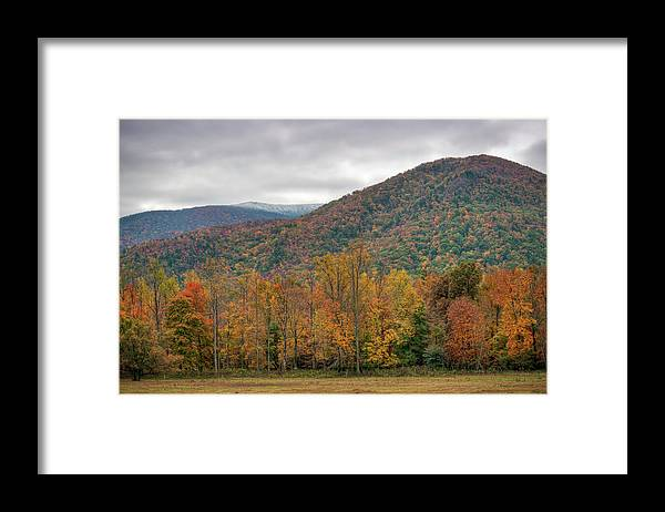 Scenics Framed Print featuring the photograph Cades Cove, Great Smoky Mountains by Fotomonkee