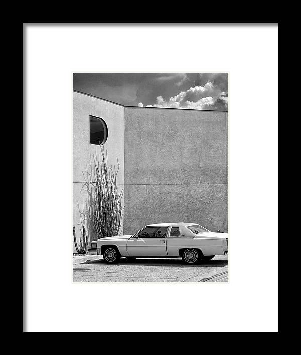 Cadillac Framed Print featuring the photograph Cadillac Drive Palm Springs by William Dey