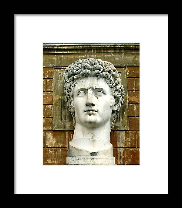 Caesar Augustus Framed Print featuring the photograph Caesar Augustus by Ellen Henneke