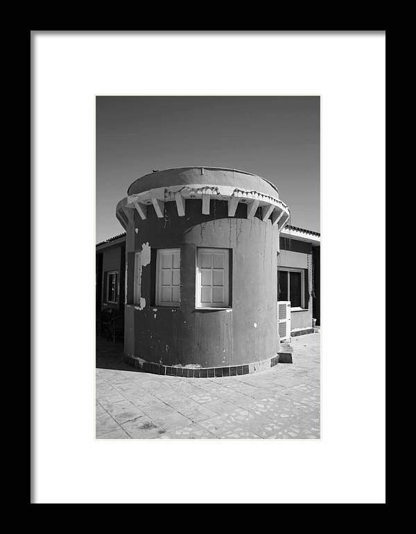 Jezcself Framed Print featuring the photograph Cafe Con Vista by Jez C Self