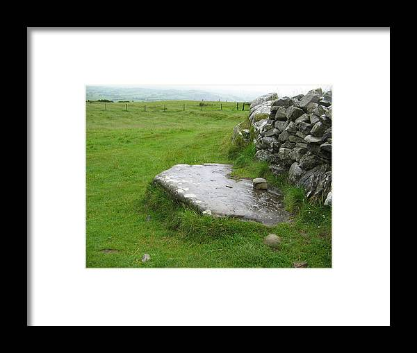 Loughcrew Framed Print featuring the photograph Cairn T At Loughcrew by Denise Mazzocco