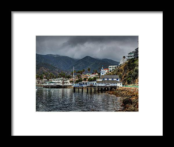 Catalina Island Framed Print featuring the photograph California - Catalina Island 013 by Lance Vaughn